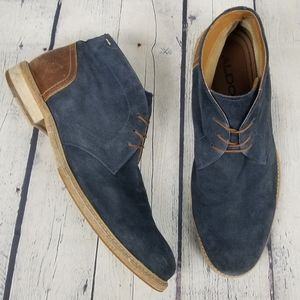 ALDO | suede smooth leather lace-up high top shoes
